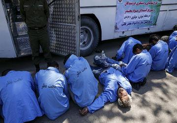 دستگیری فروشندگان مواد مخدر