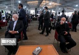 گزارش تصویری از مراسم ترحیم یک دیپلمات نفتی باحضور وزیران نفت وامورخارجه