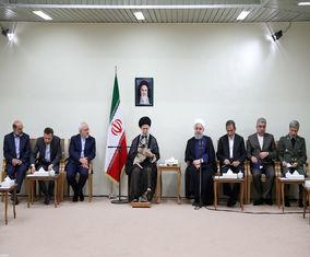 دیدار هیئت دولت با مقام معظم رهبری