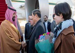 محمد بن سلمان صبح امروز وارد چین شد