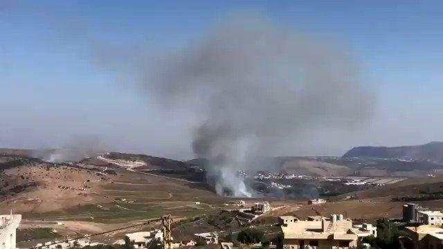 تلآویو: پایگاههای نظامی اسرائیل در مرز لبنان هدف حمله قرار گرفت