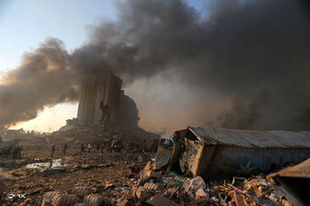 پشت پرده انفجارهای بیروت/عدهای به دنبال گرفتن ماهی از آب گل آلود هستند