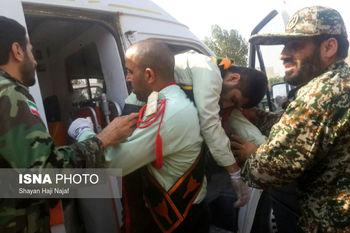 Image result for حمله تروریستی به رژه نیروهای مسلح در اهواز