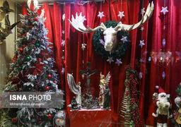 حال وهوای کریسمس در تهران+گزارش تصویری
