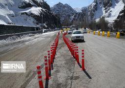 با حضور رییسجمهوری آزادراه تهران- شمال زیر بار ترافیک رفت