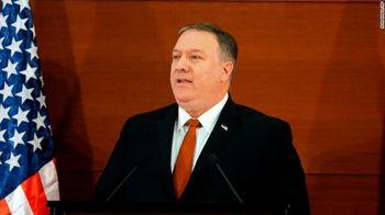 سخنرانی تند پمپئو علیه چین و روسیه