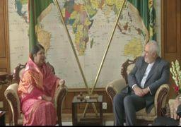دیدار ظریف و رئیس مجلس بنگلادش