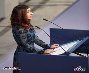 مراسم اهدای جایزه صلح نوبل ۲۰۱۸ به نادیا مراد و دنیس موکوگه
