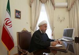 پیام حسن روحانی به مردم آمریکا؛ زمان آن است که بر سر دولت امریکا با صدای بلند فریاد برآورید