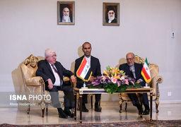 استقبال وزیر صنعت از نخست وزیر عراق در فرودگاه + عکس