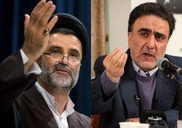مناظره داغ/ تاجزاده: اگر ظریف خیانت کرده، چرا از رهبری پیغام دادند استعفا نده/ نبویان: منطقه یعنی قاسم سلیمانی