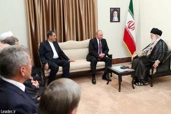 مقام معظم رهبری در دیدار رئیسجمهوری روسیه: آمریکا مهارشدنی است
