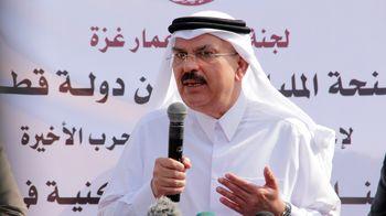 سنگباران خودرو سفیر قطر توسط فلسطینیها