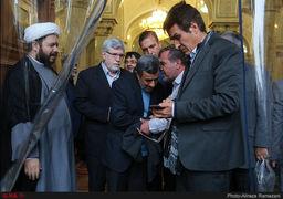 نخستین حضور خبری احمدینژاد پس از اتهامزنیهای اخیر + عکس
