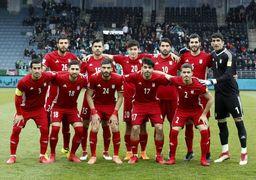 اعلام ترکیب تیم ملی فوتبال ایران مقابل ترکیه