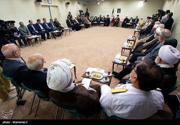 دیدار رئیس و اعضای دوره جدید مجمع تشخیص مصلحت نظام با مقام معظم رهبری