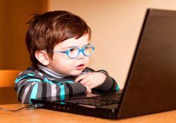 دسترسی 41  درصد کودکان زیر 10 سال به فضای مجازی