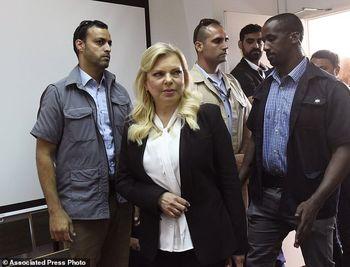 شکسته شدن قوانین قرنطینه از سوی همسر نتانیاهو