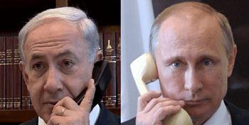گفتگوی نتانیاهو با پوتین درباره ایران