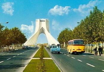 این تهران را به خاطر نمی آورید / تصویری از پلاسکو در دهه 50