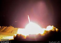 موشک شلیک شده به سوی داعش از نمای نزدیک + عکس