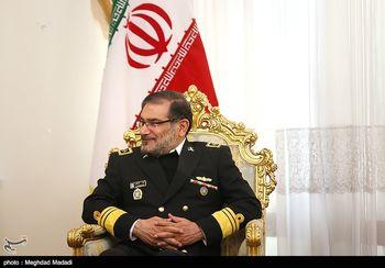 دبیر شورای عالی امنیت ملی : آماده اعزام نیروی نظامی به منظقه هستیم