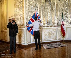عکس های دیدار وزرای خارجه ایران و انگلیس
