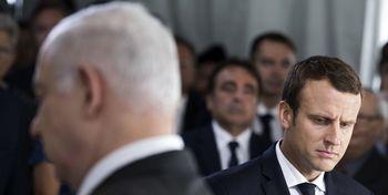 هشدار مکرون به نتانیاهو
