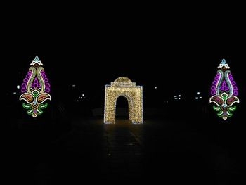 آغاز «جشن نور تهران» در پارک ملت+تصاویر