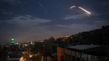 جنگ هوایی با اسرائیل در آسمان سوریه