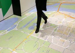 مسیریابی برای افراد پیاده از طریق گوگل مپ !