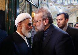 شوک به اصولگرایان/ ناطق نوری و علی لاریجانی پشت سر روحانی