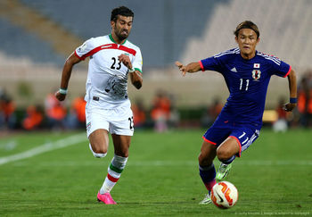 رونمایی از فُکُل جدید فوتبالیست ایرانی ! +عکس