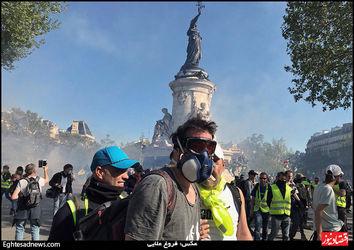 جلیقه زردهای پاریس عکس: فروغ علایی
