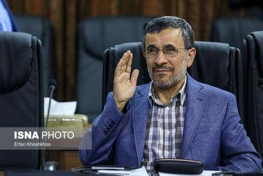 محمود احمدینژاد در جلسه امروز مجمع تشخیص مصلحت نظام