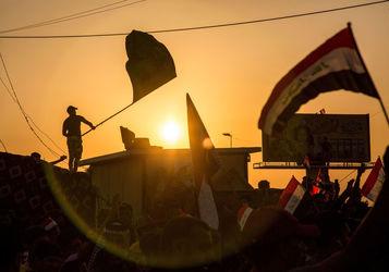 تصاویر منتخب اعتراضات عراق