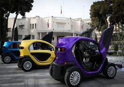 سومین خودرو برقی ایرانی با موتور چینی