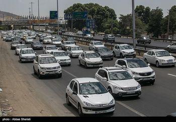 ترافیک در جادههای شمال