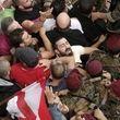 درگیری حامیان حزبالله و معترضان ضددولتی در لبنان/ نیروهای پلیس میانجی شدند