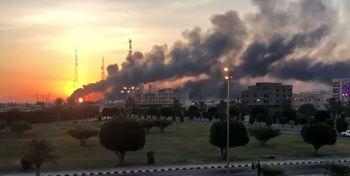 انفجار قیمت نفت پس از انفجار آرامکو