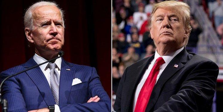 نظرسنجی | پیشتازی 8 درصدی بایدن نسبت به ترامپ