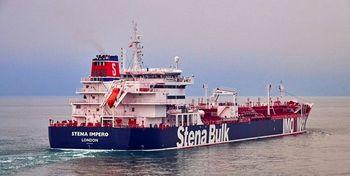 گزارش از خلیج فارس: تغییر مسیر یک نفتکش انگلیسی به سمت ایران