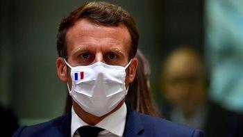 واکنش مکرون به اهانت یک نشریه فرانسوی به پیامبر اسلام