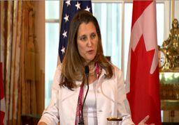 نظر وزیر خارجه کانادا در مورد بازداشت مدیر هوآوی