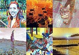 عکس های خود را به اثر هنری تبدیل کنید