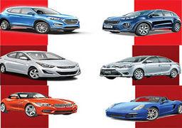 مقایسه 12 خودرو در کلاس های مختلف از نگاه خریدارانه