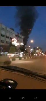 آتشسوزی در یک کلینیک درمانی در خیابان شریعتی
