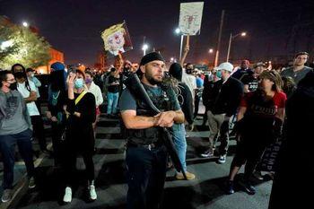 اعتراضات پساانتخاباتی در آمریکا/ آریزونا و میشیگان ناآرام شد