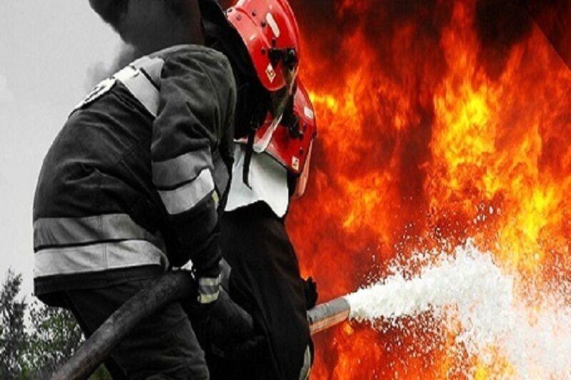 برج مروارید مشهد آتش گرفت