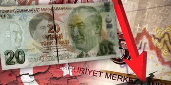 ریزش لیر ترکیه از سر گرفته شد